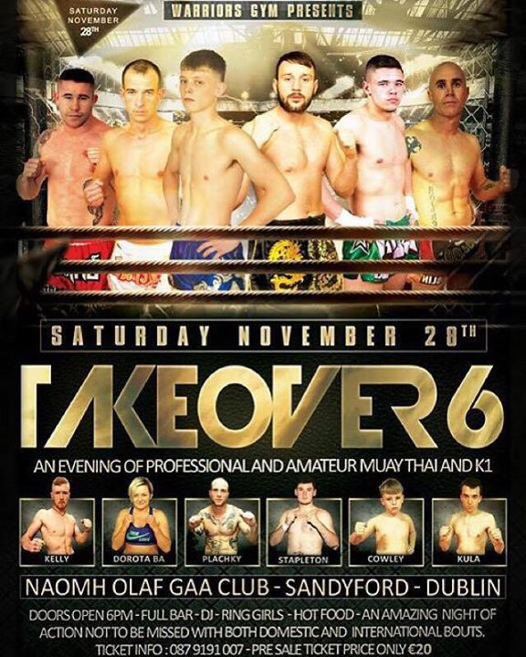 A Knockout night of Muay Thai Action at 'The Takeover 6'