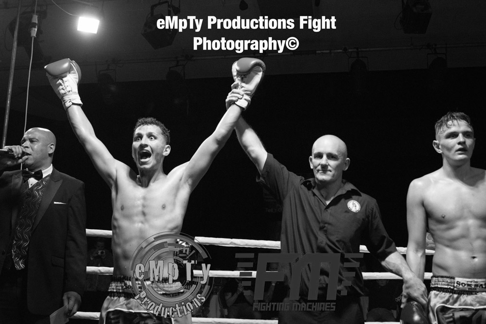 Mohamed Kalf brings first senior title back to Waterford Muay Thai