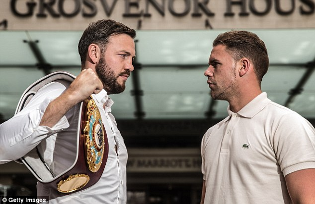 Andy Lee surrenders world title to Billy Joe Saunders