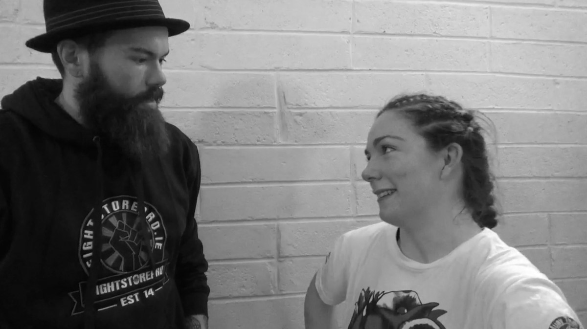 Eimear Codd talks to Fightstore Media at the Takeover 6 [Video]
