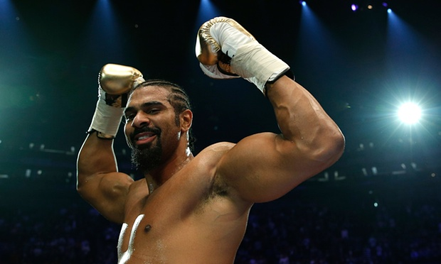 David Haye sends message to heavyweight division with explosive return