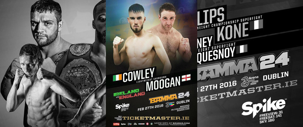 Exclusive interview: Cian Cowley out to prove himself as a complete fighter on the 27th February