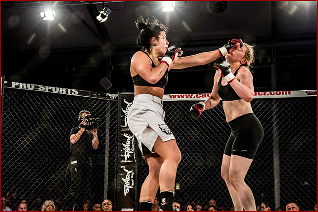 Sinead Kavanagh moves up to Featherweight for BAMMA 24