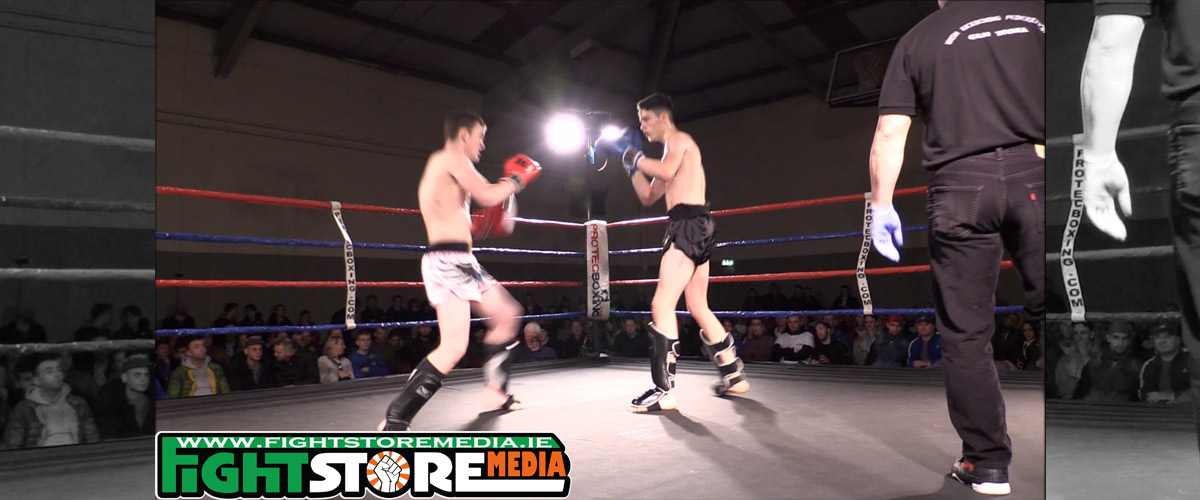 Ben Cuthbert vs Andrew Brady - Warrior FC V [Video]