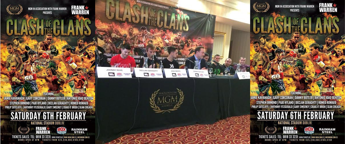 'Clash of the Clans' Press Conference: Best bits in quotes