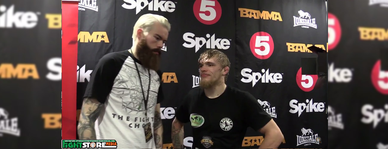 Decky 'The Diamond' Dalton post fight interview at BAMMA 24 [Video]