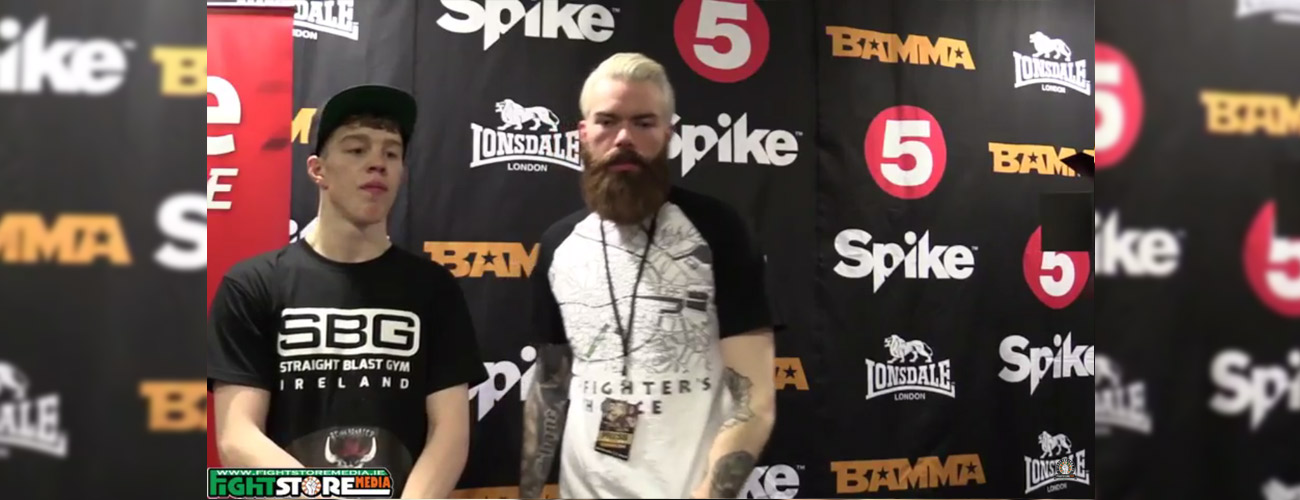 Dylan Tuke post fight interview at BAMMA 24 [Video]