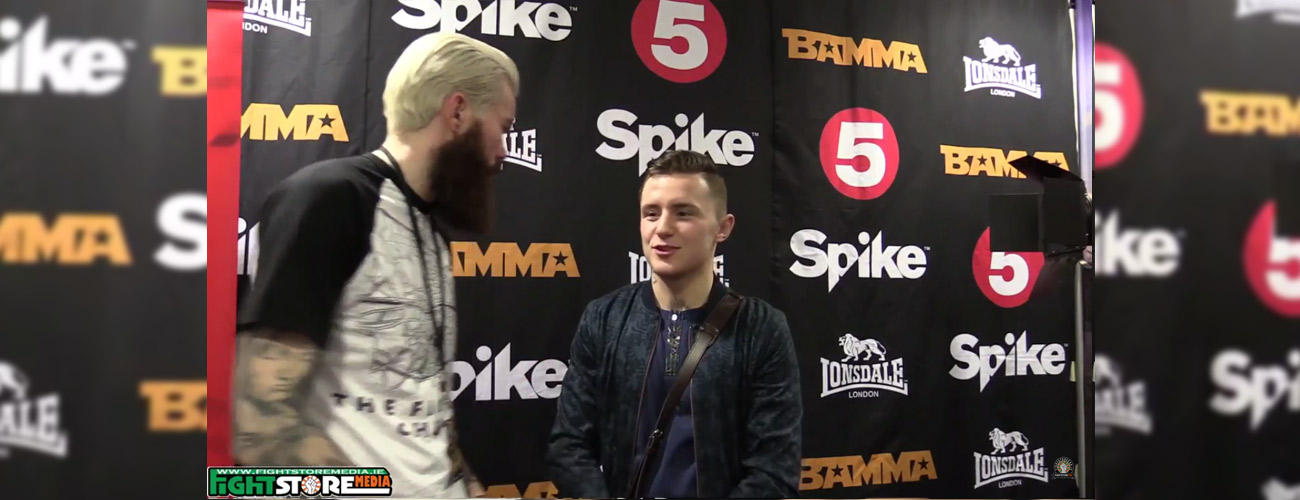 James Gallagher post fight interview at BAMMA 24 [Video]