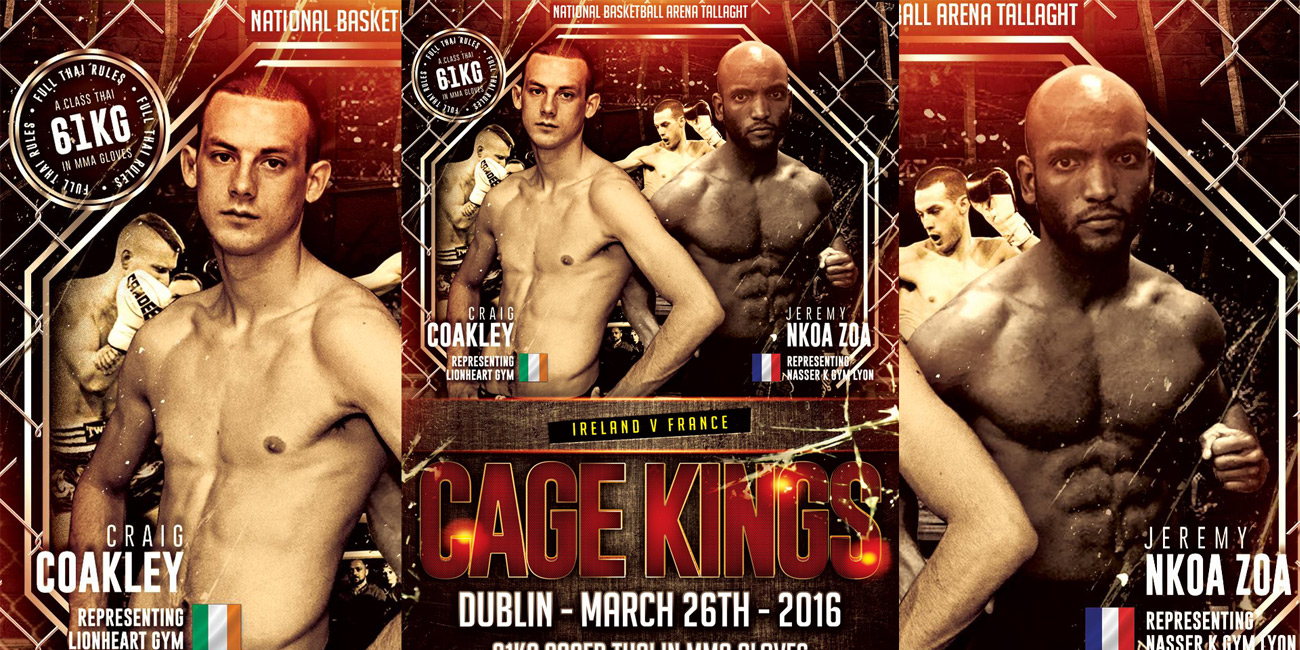 Cage Kings Dublin 2 – Full Results
