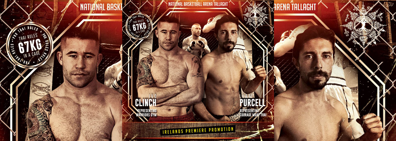 Courage Muay Thai's Liam Purcell relishing the opportunity to fight on Cage Kings Dublin