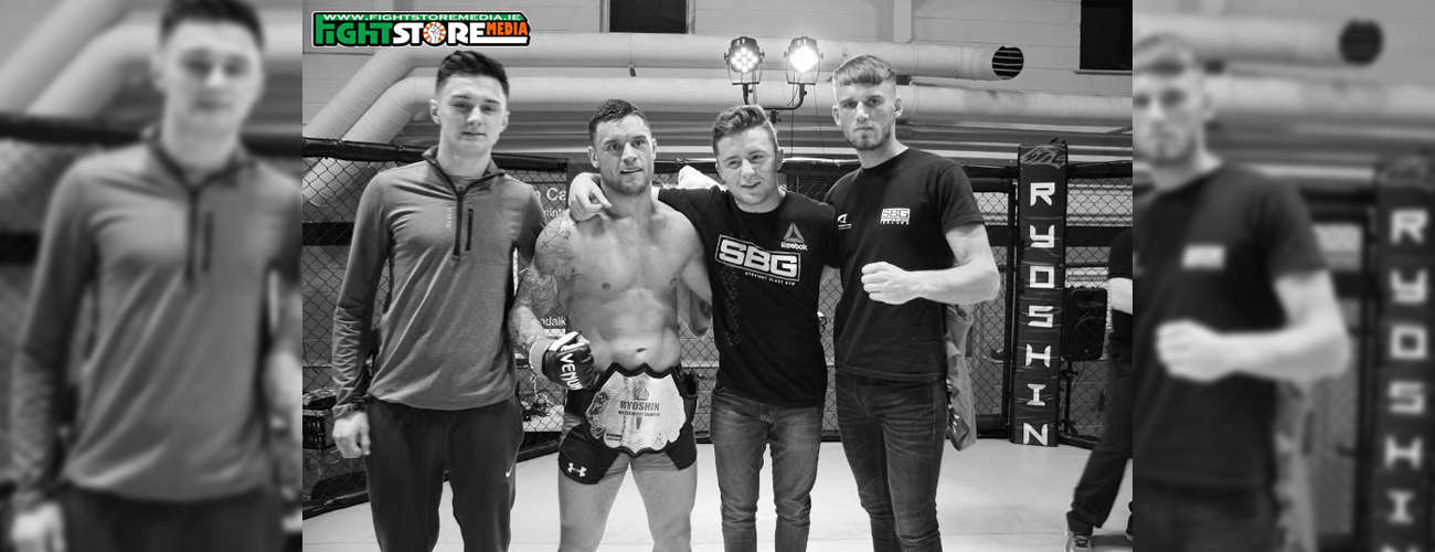 Kiefer Crosbie watched from the corner last weekend as his SBG teammates ran riot in the 3 Arena at BAMMA 24. A number of stand-out performances from the li
