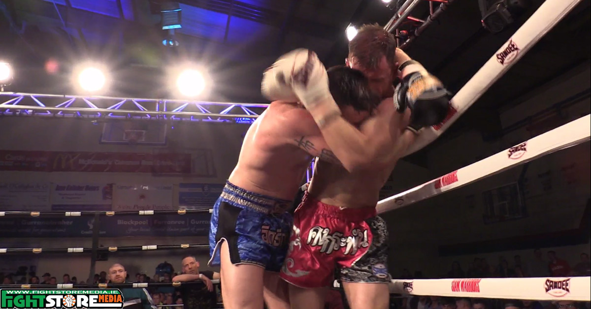 Aaron Browne v Martin Conroy - Siam Warriors presents: Muay Thai Superfights [Video]