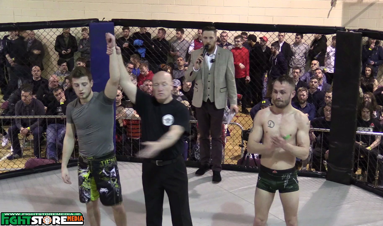 Alex O Sullivan v Declan Kenna - BattleZone FC 15 [Video]