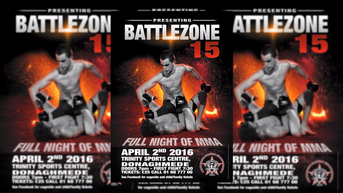 BattleZone Fighting Championship 15: Crosbie and Fleury debut in style