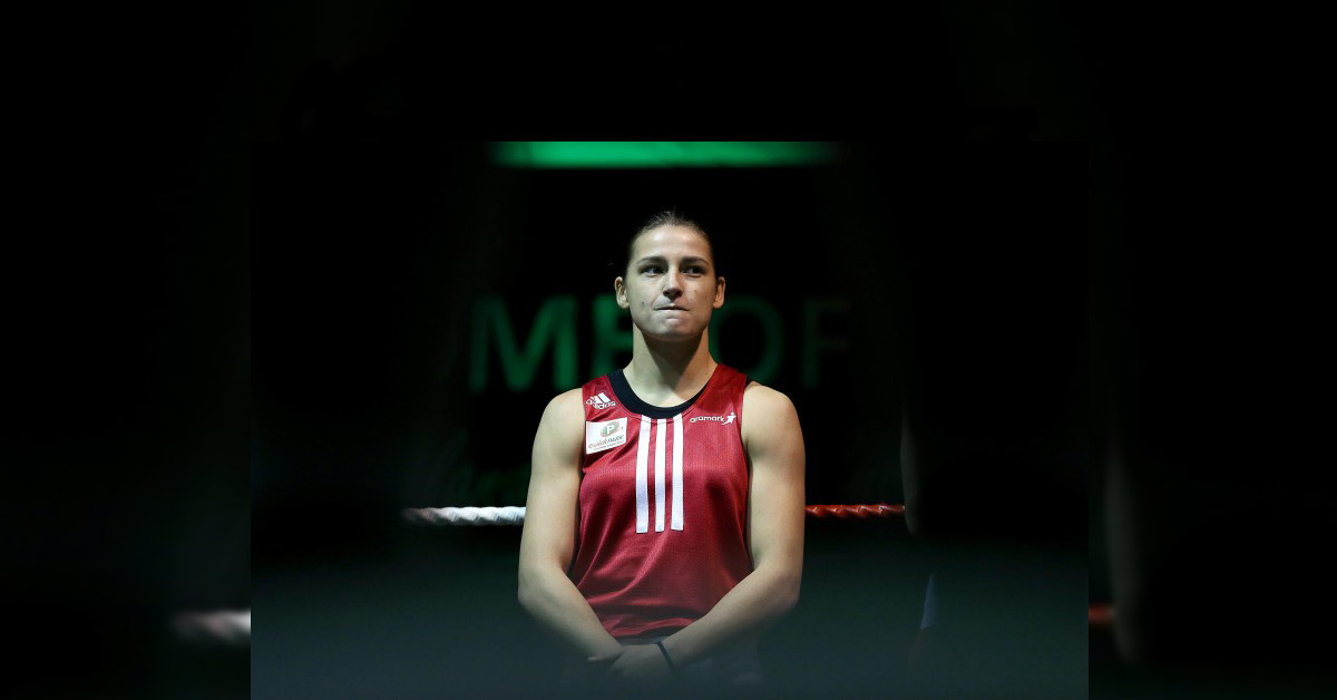 Katie Taylor controversially beaten by Estelle Mosselly in World semi-final