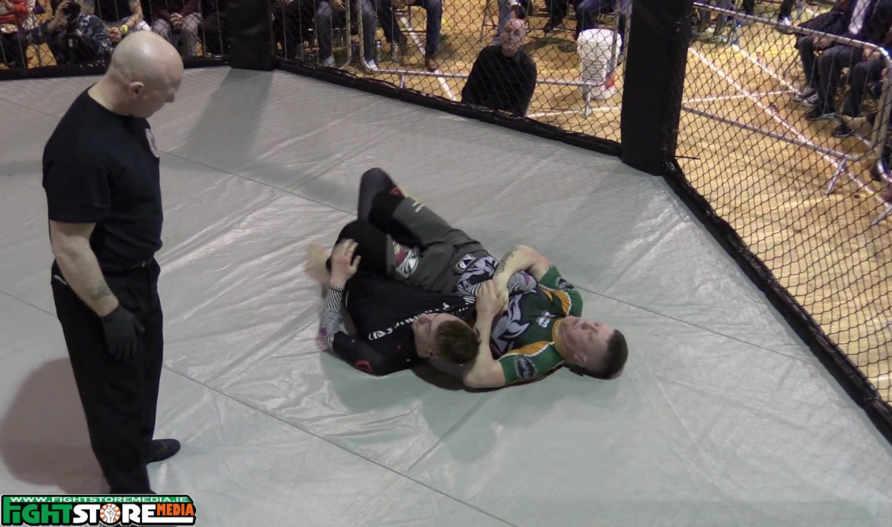 Paul Redmond v Keith Kavanagh - BattleZone FC 15
