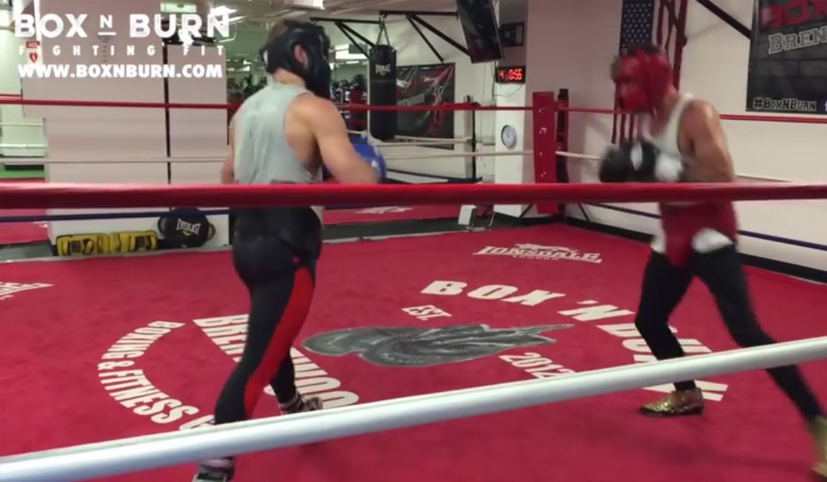 Conor McGregor Sparring former IBF champion Chris Van Heerden [Video]
