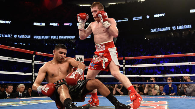 Devastating finish by Canelo ruins Khan's notable start