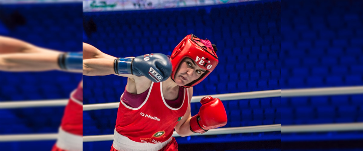 Ireland's newest star Kellie Harrington claims silver medal at World Championships