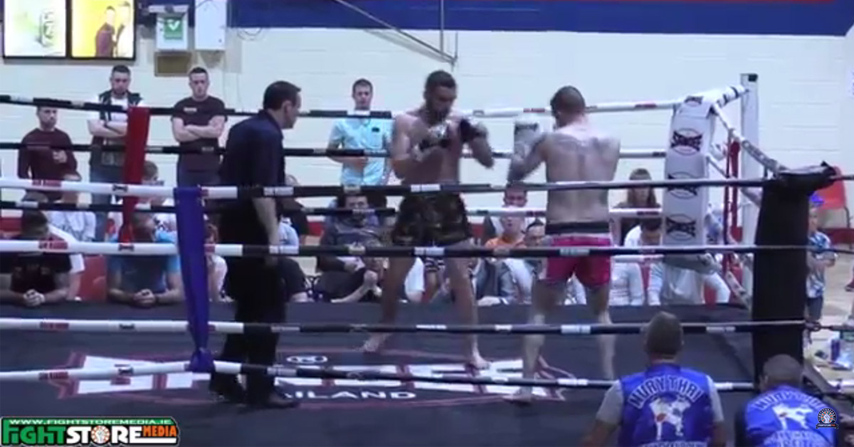 Shane O Neill v Eoin McCarty - Siam Warriors Muaythai Fight Night [Video] -  Fightstore Media