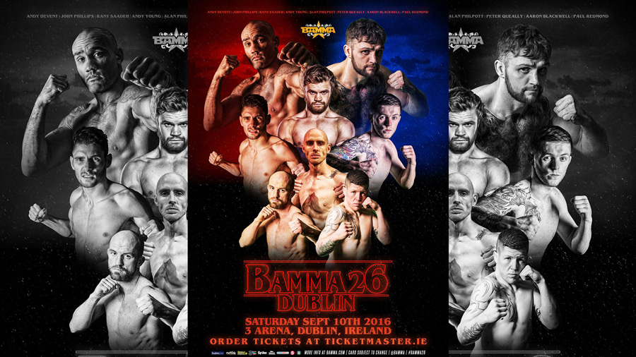 Fightstore Media's Top 5 Fights of the Night – BAMMA 26