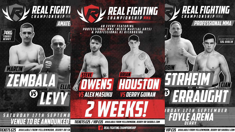 Fightstore Media's Top 5 Fights of the Night: Real Fighting Championship 1