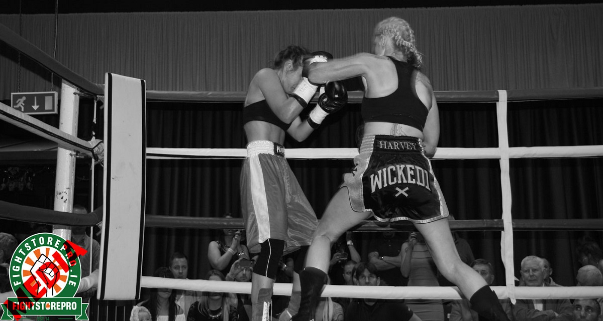 """As Lynn Harvey descended the ring last November at the Red Cow she felt on cloud nine after scoring a first round KO in her professional debut.  In the dressing room afterwards she told me, """"There's so much more I can do but there's plenty of time."""" But nobody envisioned it being 12 months before she could show us.  On November 5th Harvey will step up in class and fight Mary Romero in the National Stadium. STRUGGLE """"Those first few months of 2016 were hard for me,"""" Harvey told Fightstore Media. """"I was still quite sensitive then because I was after having an amazing debut, the ball was rolling and then it just stopped, and I wasn't even getting a glimmer of something else happening. """"It knocked me, I was like 'really, is this going to stop now?' I was feeling rejected. I was being put forward for shows but I wasn't being picked and I was like 'I've proved I can fight and sell tickets'.  She continued: """"'What do I need to do? Is it because I'm a woman? Am I crap?' I was asking myself all these questions; I think up until April or May I was finding it hard.""""  WHAT CHANGED?  Harvey said: """"About halfway through the year a weight just lifted off me and I started to relax and to think, 'it's going to happen for me,' I can see it clearly, I feel it, I know it, just have faith in it.  """"Something in my gut just said to me from September on somethings going to change; and actually a friend of mine who is very spiritual rang me one day and said he had a dream and that things are going to start changing for me in a month or two, and it was a month or two before September.  """"It cements my own faith in myself that what I'm saying to myself is true. If I go through another lull period where there isn't much happening I will listen to my gut and relax and believe that it will happen."""" Harvey explained the motivation behind continuing to train despite no fights appearing on the horizon.  """"It's hard because some boxers only train for fights but I still have my L plates on. So I'm stil"""