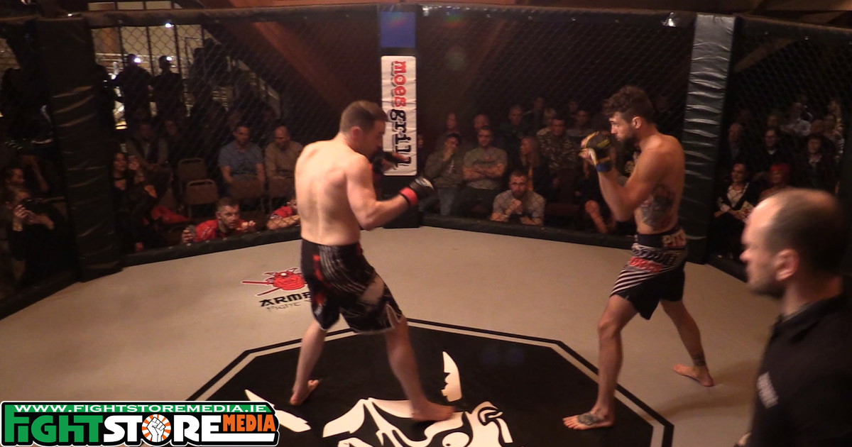 Adam Gustab vs Niall Smith - Akuma FC VIII [Full Fight]