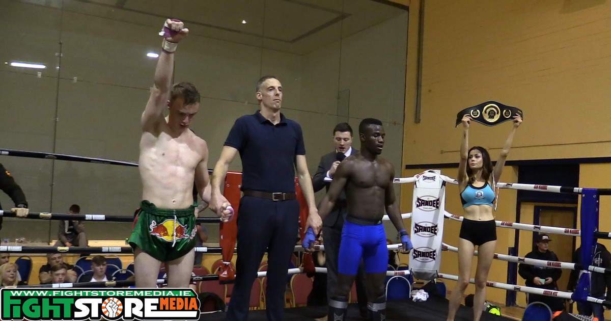 Muaghan lifts 70 kg Title at Full Power K-1 Fight Night 2