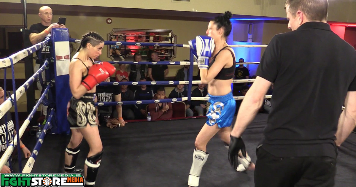 Amy Byrne vs Leah Devaney - Unforgiven Fight Night [Full Fight]