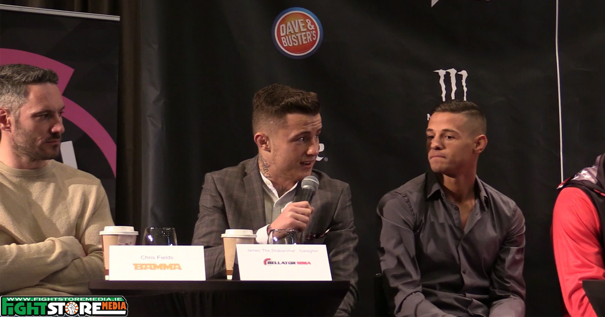 Bellator 169 / BAMMA 27 press conference at the Gibson Hotel