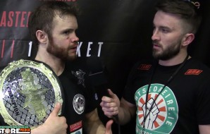 "Andy ""Taz"" Young post fight interview at BAMMA 28"