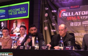 BAMMA28 / Bellator 173 Press Conference from the SSE Arena, Belfast