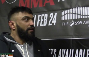Bellator 173: Liam McGeary Media Scrum