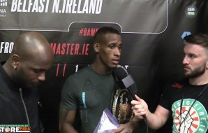 Damien Lapilus post fight interview at BAMMA 28