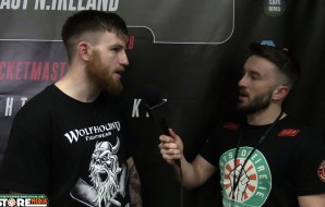 "Keith ""The Butcher"" McCabe post fight interview at BAMMA 28 [Video]"