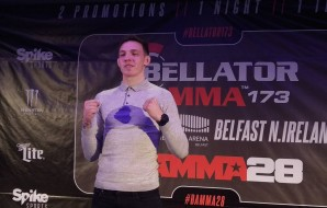 Rhys McKee - BAMMA 28 press conference