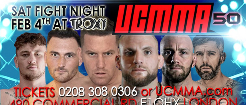 UCMMA 50: Fight Card and Live Stream