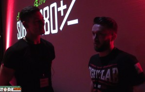 We catch up with Jonathan Block back stage at SUBOVER80