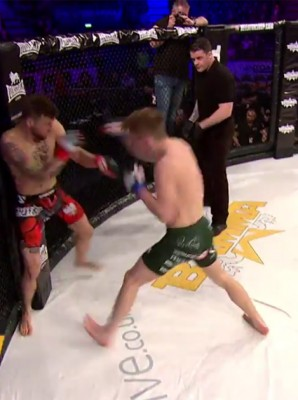 BAMMA 28 - Adam Gustab vs Paul Hughes [Video]