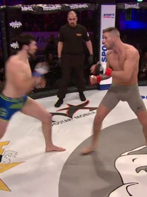 BAMMA 28 - Kyle McClurkin vs Will Fleury [Video]