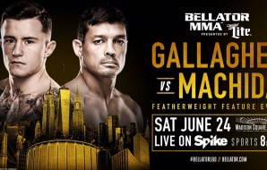 James Gallagher to face Chinzo Machida at Bellator 180 in Madison Square Garden