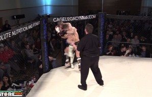 Watch: Tommy Gray vs Eamon Kerrins - Cage Legacy Kickboxing 1
