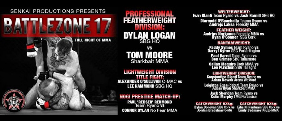 Battlezone FC 17 – Fight Card