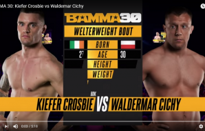 BAMMA 30: Kiefer Crosbie vs Waldemar Cichy