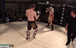 Watch: Stephen Broadhurst vs Sean Boyd - Cage Legacy Kickboxing 3