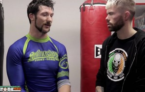 Will Fleury (SBG Ireland) post fight interview at Battlezone FC 17