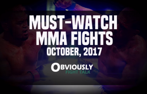 OFT - Top 5 Fights October 2017