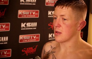 "Watch: Paul ""Redser"" Redmond post fight interview at KSW 40"