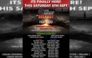 Cage Warriors Academy Ireland - Belfast Fight Card
